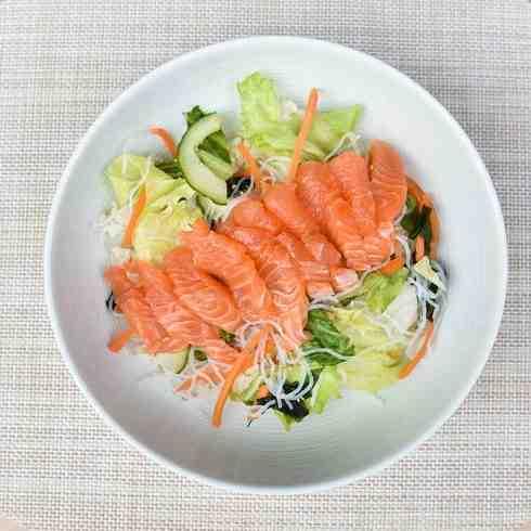 Salmon, Seaweed and Sesame Sozai Salad