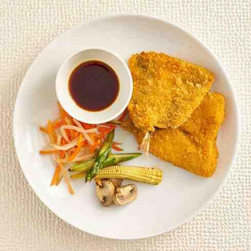 Japanese Mackerel Katsu