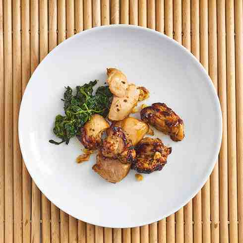 Sansho Pepper and herb chicken