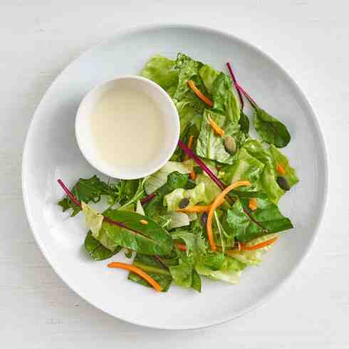 (New) Mizuna salad (V)