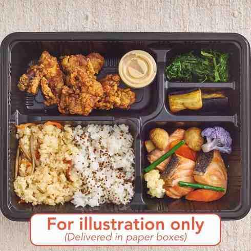 Prawn Chilli & Braised Chicken Katsu