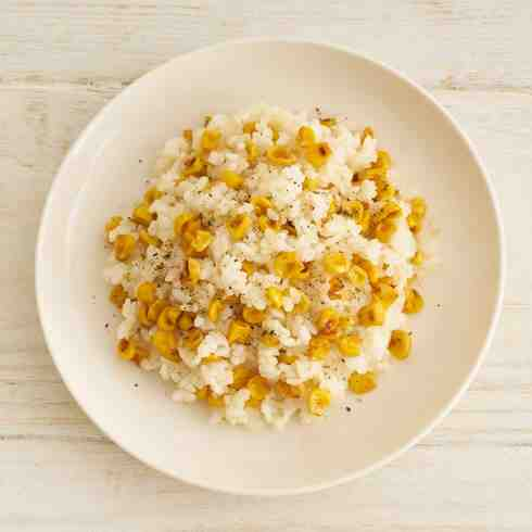 Soy Butter and Grilled Corn Rice (V)
