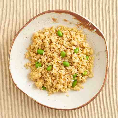 Edamame Ginger Rice (V)