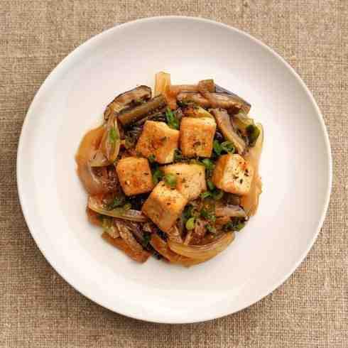 Tofu Sukiyaki (Vegan)