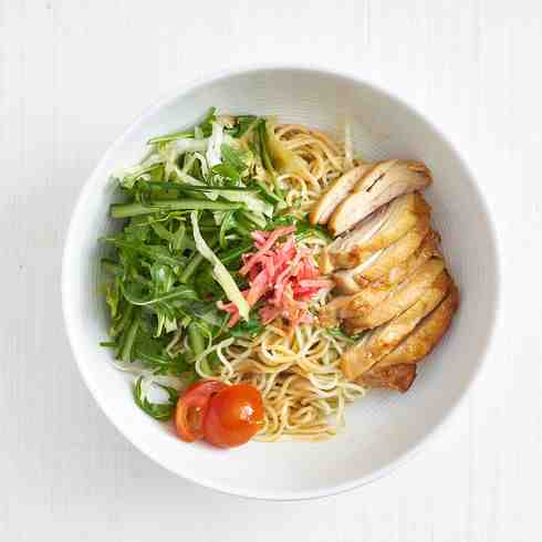 House-made Sesame Hiyashi Chuka Ramen Noodles (Chilled)