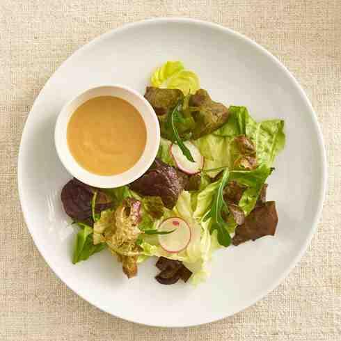 Oak Lettuce and Sesame Lime Salad (GF)