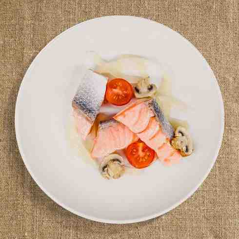 Steamed Soy Salmon